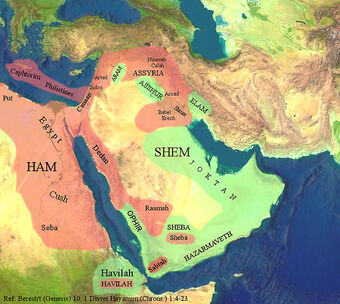 Sons of Noah | Religion-wiki | Fandom Map Of Mizraim on map of dumah, map of magog, map of shinar, map of togarmah, map of hebrews, map of ishmaelites, map of cush, map of michmash, map of kingdom of kush, map of moreh, map of ham, map of aroer, map of japheth, map of aram, map of shem, map of nahor,