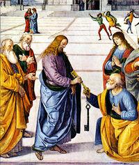 Jesusgiveskeystopeter