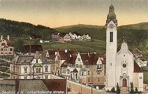 Altkatholische Kirche Gablonz Jablonec
