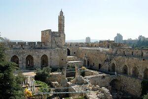 Tower of david jerusalem