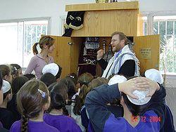Rabi with kids