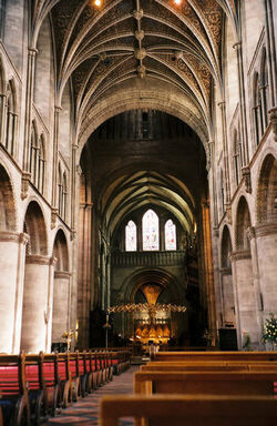 Hereford Cathedral Interior May 2004