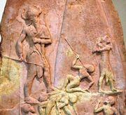 Stele Naram Sim Louvre Sb4