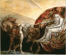 God judging adam blake 1795