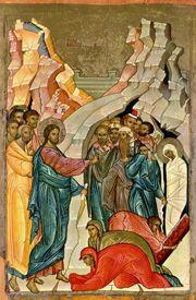 Воскрешение Лазаря2