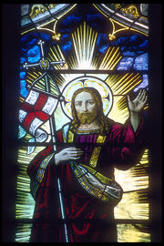 Rochester cathedral stained glass 2