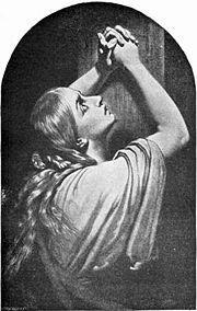 Maria Magdalene praying