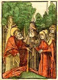 John the Baptist preaching - 1516