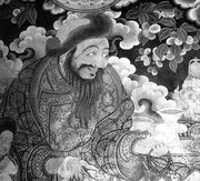 Gushi Khan Fresco