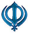 Khanda Blue small