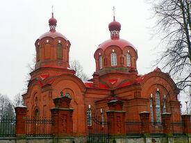 Poland Białowieża Orthodox church