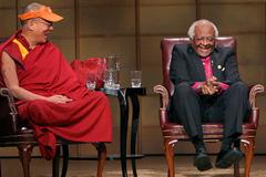 Dalai Lama and Bishop Tutu. Carey Linde