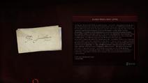 Aubrey letter