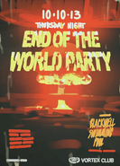End of the World Party Poster 2