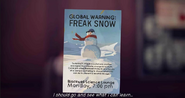 Freak Snow Poster