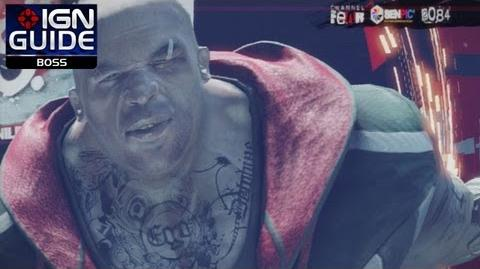 Remember Me Walkthrough - Episode 2's Kid Xmas Boss Fight