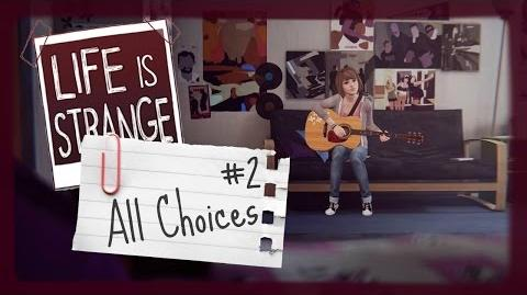 Life Is Strange All Small Choices 2 Episode 1 PS4