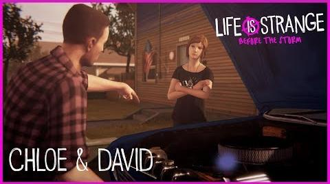 Life is Strange Before the Storm Gameplay – Chloe & David ESRB