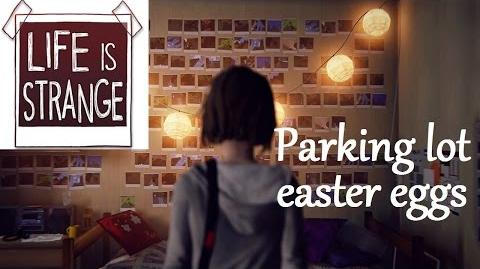 Life is Strange ep1 easter eggs - License plates