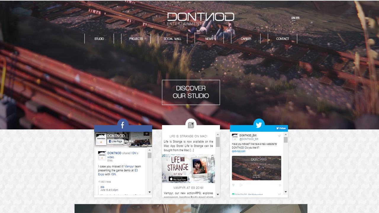 List of Social Media Websites | DONTNOD Entertainment Wiki