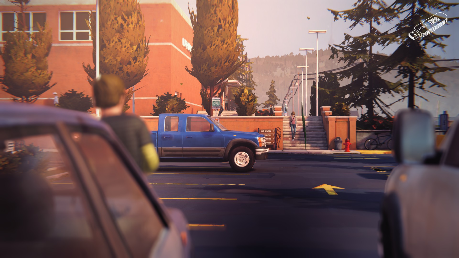 Blackwell Academy Parking Lot Dontnod Entertainment Wiki Fandom