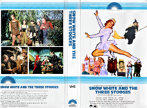 Snow White and the Three Stooges 1979 VHS Cover Art (Clamshell)