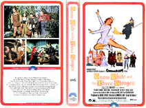 Snow White and the Three Stooges 1980 VHS Cover Art (CPHE Clamshell)