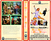 ' Snow White and the Three Stooges 1981 VHS Cover Art (Side