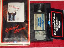 Midnight Express 1979 VHS (1980 Reprint) - Image -1