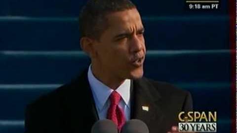 President Barack Obama 2009 Inauguration and Address