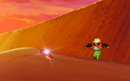 Goku finds the One-Star Ball in the desert