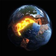 New Earth broken up