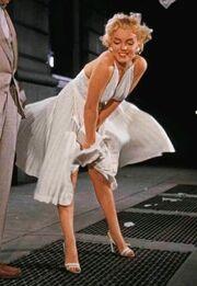 Marilyn white dress