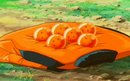 Vodka and Goku's six Dragon Balls