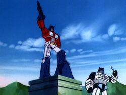 Optimus Prime Memorial