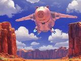 Evil Dr. Porkchop's Spaceship