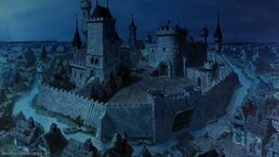 Prince John's castle