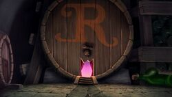 Ratigan's lair