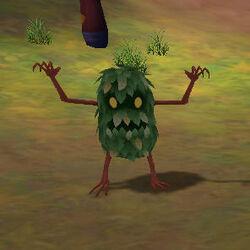 Angry shrub crop