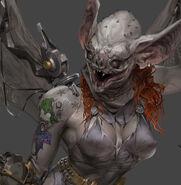 Camille-bachmann-cyberpunk-batgirl-tattoos-closeup-1