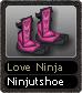Love Ninja Ninjutshoe