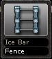 Ice Bar Fence