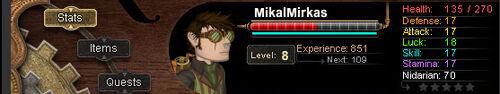 Mikal-Stats