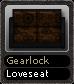 Gearlock Loveseat