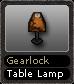 Gearlock Table Lamp