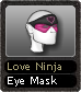 Love Ninja Eye Mask