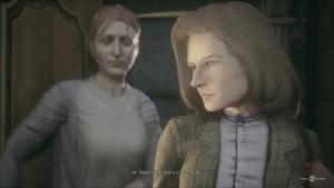 Gloria escorts Rosemary