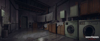 Remothered tormented fathers laundry concept by chris darril-db8kl2e