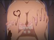 Shikimi hands on akane-tans boobs