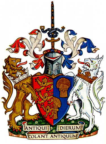 County Palatine of Chester COA